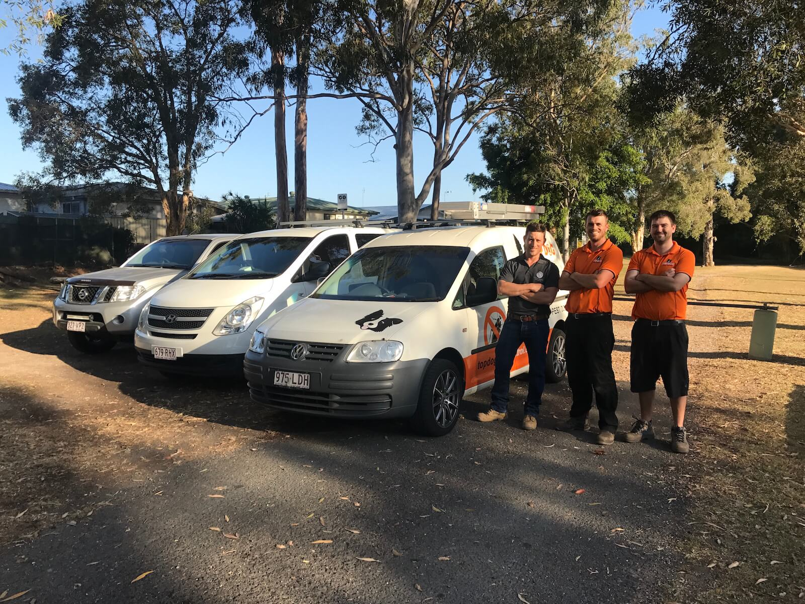 Building and Pest inspection team